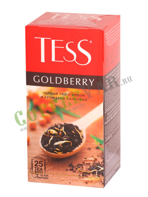 Чай Tess черный Goldberry (Айва и аромат облепихи) 25 шт