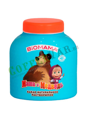 Какао Biomama Маша и Медведь 250 гр