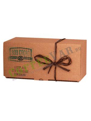 Бритарев подарочный набор для приготовления шоколада (Какао-бобы, Какао-масло, Ваниль стручковая)