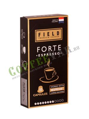 Кофе в капсулах Field Premium Coffee Espresso Forte для системы Nespresso (5 гр - 10 шт)