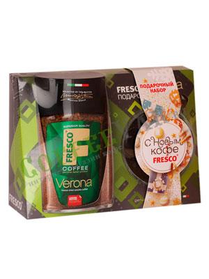 Подарочный набор Fresco Verona (растворимый кофе с кружкой)