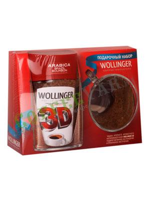 Подарочный набор Wollinger 3D (растворимый кофе с кружкой)