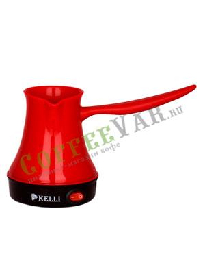 Турка электрическая Kelli KL-1444 250 мл (красная)
