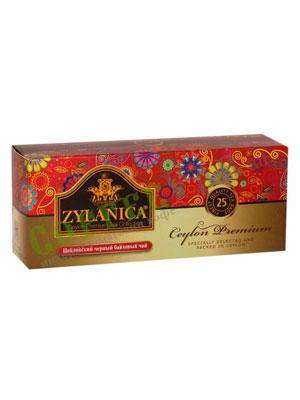 Чай Zylanica Ceylon Premium Black Tea 25 пакетиков