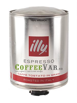 Кофе Illy в зернах Caffe Espresso (Темная обжарка) 3кг