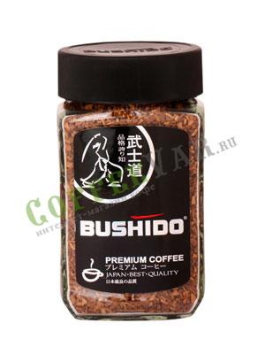 Кофе Bushido растворимый Black Katana 100 гр (ст.б.)