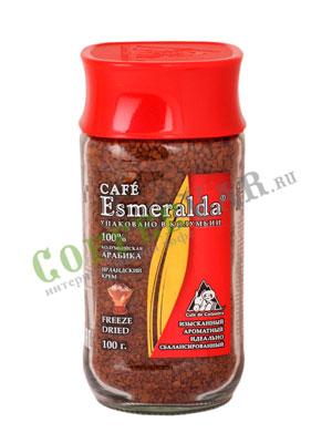 Кофе Cafe Esmeralda растворимый Ирландский Крем 100 гр