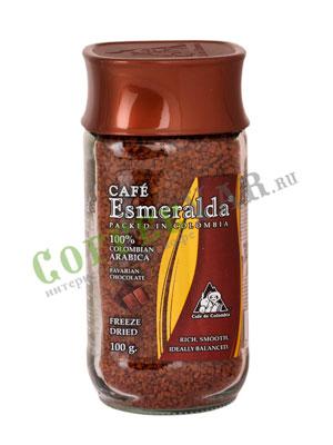 Кофе Cafe Esmeralda растворимый Баварский Шоколад 100 г