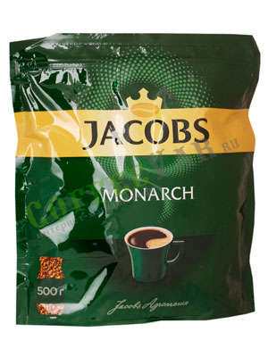 Кофе Jacobs растворимый Monarch 500 гр