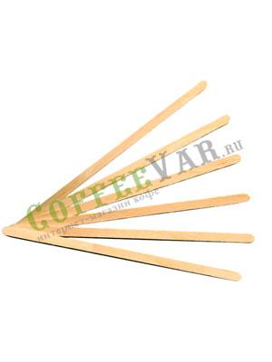 Размешиватель деревянный в индивидуальной упаковке 150 мм (250 шт)