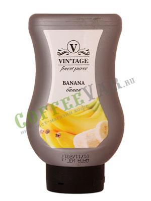 Фруктовое пюре Vintage Банан 650 гр