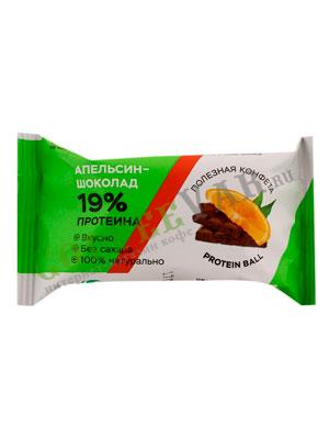 Конфеты Jump Протеин апельсин-шоколад