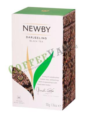 Чай пакетированный Newby Дарджилинг 25 шт
