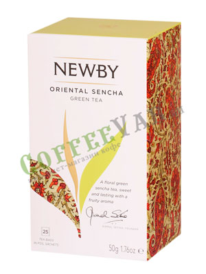 Чай пакетированный Newby Восточная сенча 25 шт