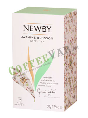 Чай пакетированный Newby Цветок жасмина 25 шт