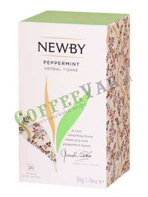 Чай пакетированный Newby Перечная мята 25 шт