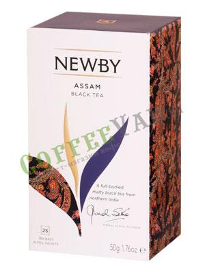 Чай пакетированный Newby Ассам 25 шт
