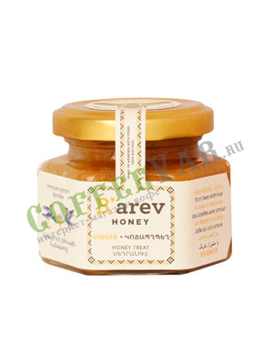 Мед Barev honey десертный с имбирем 110 гр