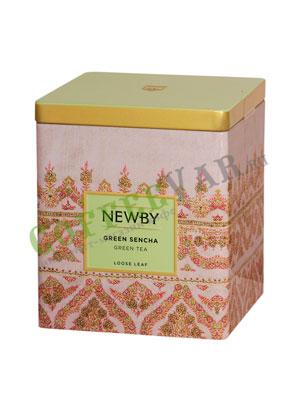 Листовой чай Newby Зеленая сенча 125 гр