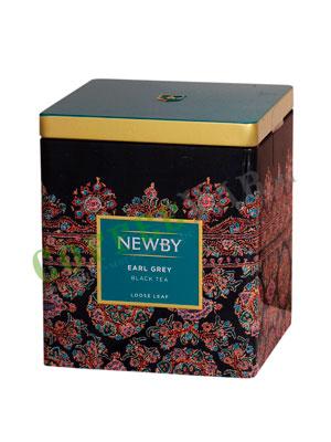Листовой чай Newby Эрл грей 125 гр