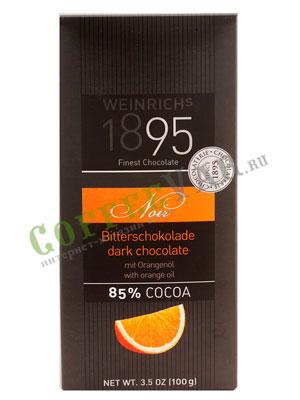 Шоколад Weinrichs горький шоколад с апельсином 100 гр