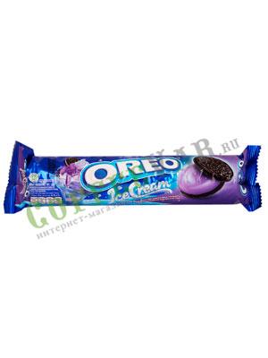 Бисквитное печенье Oreo Ice Cream Blueberry 137 гр