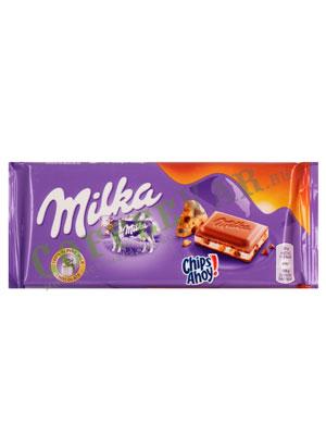 Шоколад Milka Chips ahoy 100 гр