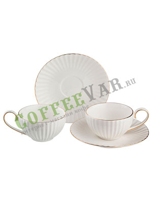 Чайный набор Lefard на 2 персоны 4 пред. 150 мл (84-822)