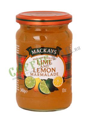 Джем Mackays из лайма и лимона 340 гр