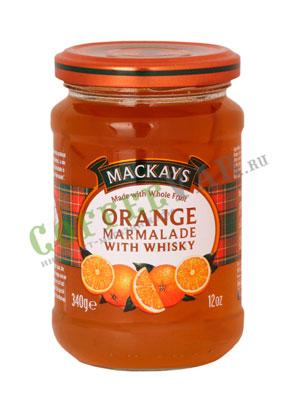 Джем Mackays из апельсина с виски 340 гр