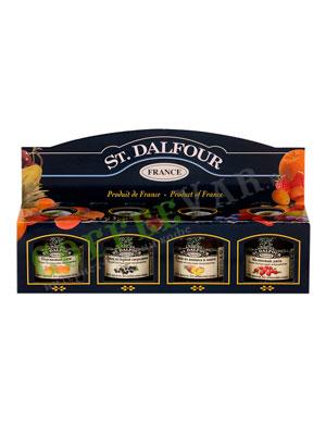 Подарочный набор St.Dalfour из 4-х видов джема по 28 гр