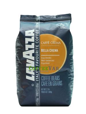 Кофе Lavazza в зернах Bella Crema 1кг в.у