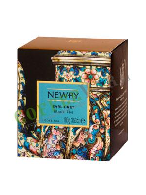 Чай листовой Newby Эрл грей 100 гр