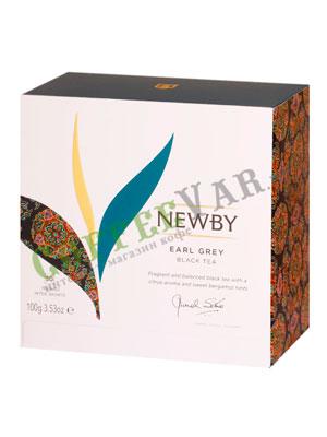 Пакетированный Newby Эрл Грей 50 шт