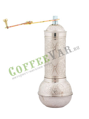 Кофемолка ручная из Армении с круглым дном
