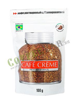 Кофе Cafe Creme растворимый 100 гр пакет