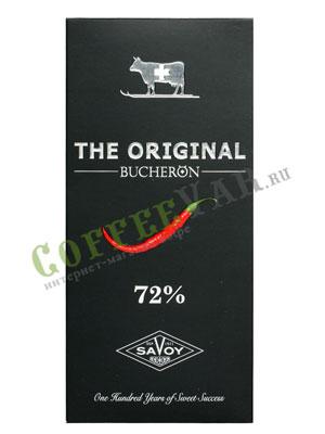 Шоколад Buсheron The Original Горький с перцем 100 гр