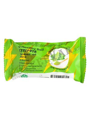 Конфеты Jump Зелёный чай матча 28 гр
