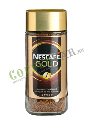 Кофе Nescafe Gold 95 гр ст.б