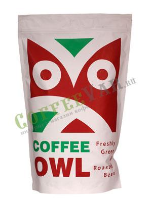 Кофе Owl в зернах Brazil Peaberry 1 кг