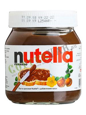 Паста Nutella шоколадная 630 гр