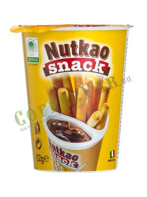 Паста Nutkao Domino шоколадная с печеньем 52 гр