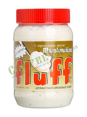 Зефир кремовый Fluff с карамельным вкусом 213 гр