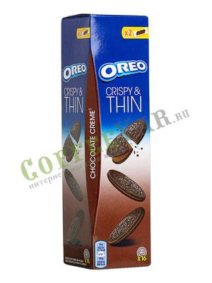 Бисквитное печенье Oreo Crispy Thin Choco 96 гр