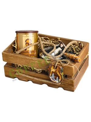 Подарочный набор в деревянном ящичке Mehmet Efendi