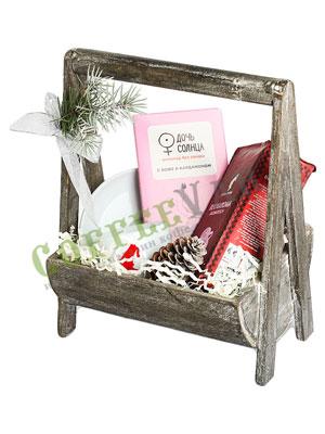 Подарочный набор в деревянном ящичке Julius Meinl