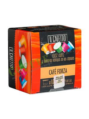 Кофе Cafes la Brasilena в капсулах Форза 10 шт