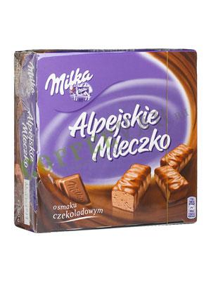 Шоколадные конфеты Milka Alpine Milk Choco Chocolates 330 гр