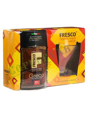 Подарочный набор Fresco Greco (растворимый кофе с кружкой)