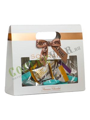 Шоколадные конфеты Sobranie Финиксы в шоколадной глазури в ассорти 300 гр